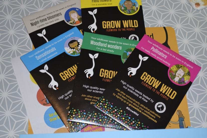 Grow Wild: free wildflowerseed
