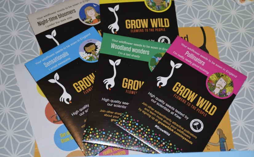 Grow Wild: free wildflower seed