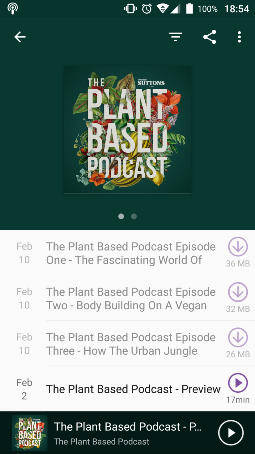 The Plant Based Podcastreview