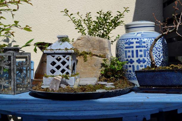 Plot on a plate: Zen mountainmonastery