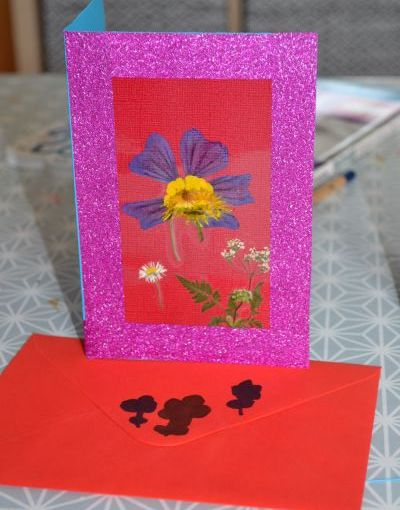 30 Days Wild: Day 11-Flower card